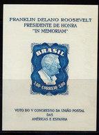 Bresil 1949 Yvert BF 11 ** Neuf Sans Charniere Sans Gomme Avec Filigrane - Nuovi