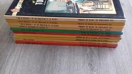10 Albums Tintin Kuifje 1ste En Herdrukken - Hergé