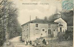 CHARMES EN L ANGLE école Et église - Autres Communes