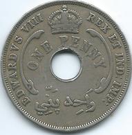 British West Africa - 1936 - Edward VIII - Penny - KM16 - Colonie