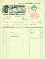 """Österreich Wien + Berlin 1928 Rechnung Deko """" OTTO TAUSSIG & Co Herren- U. Damenwäschefabrik Textil """" - Austria"""