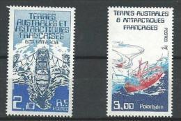 """TAAF YT 120 & 121 """" Navires De Liaison """" 1986 Neuf** - Ongebruikt"""