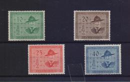 LIECHTENSTEIN 1953 14th INTERNATIONAL SCOUTS CONFERENCE MNH SET STAMPS - Nuevos