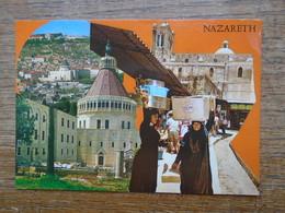 Israël , Nazareth , Multi-vues - Israel