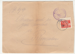 Ljubljana Court Letter Cover Posted 1947 B200601 - Covers & Documents