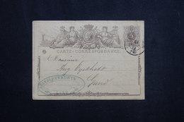 BELGIQUE - Entier Postal De Gand Pour Liège En 1873 -  L 62057 - Postales [1871-09]