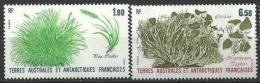 "TAAF YT 125 Et 126 "" Flore "" 1987 Neuf** - Ongebruikt"