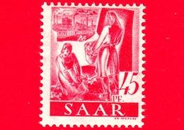 Nuovo - MNH - SARRE - SAAR - 1947 - Agricoltura - Professioni - Contadini - 45 - Ongebruikt