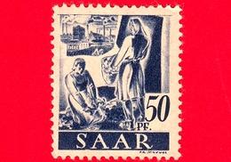 Nuovo - MNH - SARRE - SAAR - 1947 - Agricoltura - Professioni - Contadini - 50 - Ongebruikt