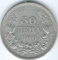 Bulgaria - 1940 - Boris III - 50 Leva - KM48 - Bulgaria