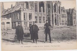 Diksmuide - Stadhuis In Oorlogstijd (niet Gelopen Kaart) - Diksmuide