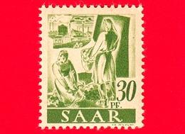Nuovo - MNH - SARRE - SAAR - 1947 - Agricoltura - Professioni - Contadini - 30 - Ongebruikt