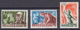 Hongrie 1950 Yvert 976 / 978 ** Neufs Sans Charniere. Serie Pour La Paix. - Ungarn