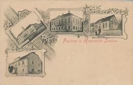 OLD POSTCARD AUSTRIA SLOVENIA - POZDRAV IZ KRAPINSKIH TOPLICA - TOPLICE - PRIMI '900 - P51 - Slowenien