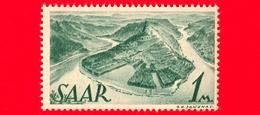 Nuovo - MNH - SARRE - SAAR - 1947 - Il Fiume Saar Tra Mettlach E Merzig - 1 - Ongebruikt