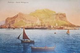 Cartolina - Palermo - Monte Pellegrino - 1930 Ca. - Palermo