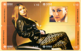 CHINA Telefonkarten Puzzle -Madonna - China