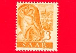 Nuovo - MNH - SARRE - SAAR - 1947 - Industria Mineraria - Professioni - Minatore Al Lavoro - 3 - Ongebruikt