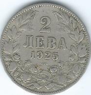 Bulgaria - 1925 - Boris III - 2 Leva - KM38 - Bulgaria