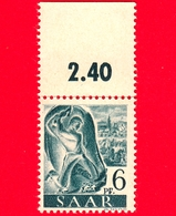 Nuovo - MNH - SARRE - SAAR - 1947 - Industria Mineraria - Professioni - Minatore Al Lavoro - 6 - Ongebruikt