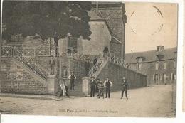 CPA, D.35 , N°2060, Piré , L' Escalier St. Joseph , Animée Ed. Marie Rousselière  1911 - Francia
