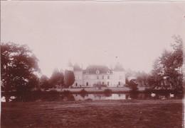 Photographie Loire 42 Champdieu Château Vaugirard De La Famille Charvet Arriere Du Château 1896 Ref 200602 - Photos