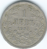 Bulgaria - 1925 - Boris III - 1 Lev - KM37 - Bulgaria