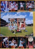 122. GRENADINES OF ST.VINCENT STAMP M/S + SET/8 STAMPS LAWN TENNIS . MNH - St.Vincent & Grenadines