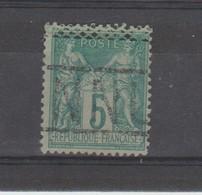 ANNULE: Annulation Belge / Yv N° 75 TB - Poststempel (Einzelmarken)