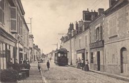 """OLIVET-LOIRET-ORLEANS """" LA RUE NATIONALE"""" TRAMWAY ELECTRIQUE - Orleans"""
