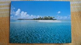 CPM POLYNESIE FRANCAISE UN MOTU GEMME DES LAGONS  PHOTO CHRISTIAN ERWIN  219 - Polynésie Française