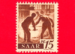 Nuovo - MNH - SARRE - SAAR - 1947 - Industria Siderurgica - Professioni - Addetti Alla Fornace - 15 - Ongebruikt