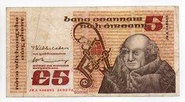 - Billet IRLANDE - £5 - CENTRAL BANK OF IRELAND - - Ireland