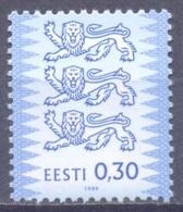 1999Estonia 357 ICoat Of Arms - Estonie
