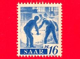 Nuovo - MNH - SARRE - SAAR - 1947 - Industria Siderurgica - Professioni - Addetti Alla Fornace - 16 - Ongebruikt