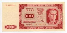 - Billet POLOGNE - 100 Zlotych - NARODOWY BANK POLSKI - - Polen
