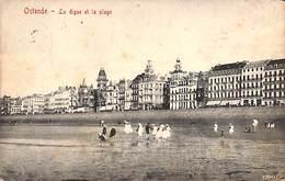 Oostende - Ostende - La Digue Et La Plage (Edit. V G) - Oostende