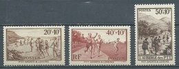 France YT N°345/347 P.T.T. Sports Et Loisirs Neuf ** - France