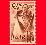 Nuovo - MNH - SARRE - SAAR - 1947 - Memoriale Del Maresciallo  Ney - 84 - Ongebruikt