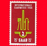 Nuovo - MNH - SARRE - SAAR - 1956 - Fiera Di Saar, Saarbrücken - Simboli Dell'industria, Emblema - 15 - Ongebruikt