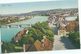 Basel 1920; Panorama - Nicht Gelaufen. (Wehrli - Kilchberg, Zürich) - BS Basle-Town