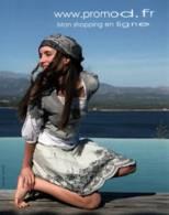 CPM - MODE - PUBLICITE PROMOD (Femme Qui Pose) - Lot De 2 Cartes - Edition Pub - Moda