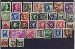 SLOVAKIA COLLECTION OF 33 DIFFERENT OLD USED STAMPS - Slovaquie