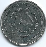 Burundi - 50 Francs - 2011 - KM22 - Burundi