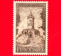 Nuovo - MNH - SARRE - SAAR - 1956 - Ricostruzione Dei Monumenti Della Sarre - Winterberg Memorial Prima Della Distruzion - Ongebruikt