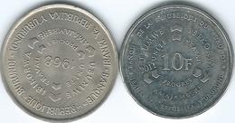 Burundi - 10 Francs - 1968 (KM17) & 2011 (KM21) - Burundi