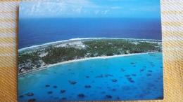 CPM POLYNESIE FRANCAISE MORUROA LA ZONE VIE  PHOTO CHRISTIAN ERWIN 385 ILE ATOLL ? - Polynésie Française