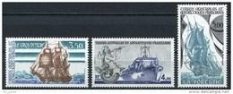 """TAAF YT 135 à 137 """" Navires De Liaison """" 1988 Neuf** - Ongebruikt"""