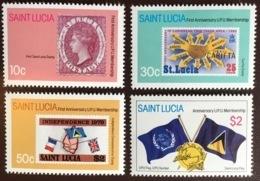 St Lucia 1981 UPU Anniversary MNH - St.Lucia (1979-...)