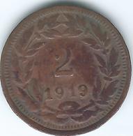 Honduras - 2 Centavos - 1919 - KM71 (no Dot) - Honduras